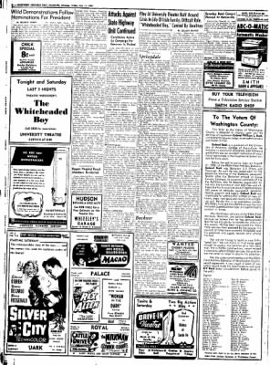 Northwest Arkansas Times from Fayetteville, Arkansas on July 11, 1952 · Page 8