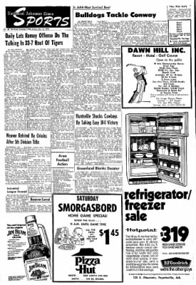 Northwest Arkansas Times from Fayetteville, Arkansas on October 11, 1974 · Page 12
