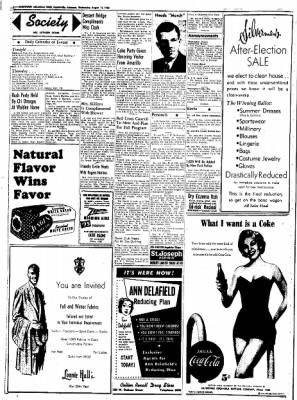 Northwest Arkansas Times from Fayetteville, Arkansas on August 13, 1952 · Page 2