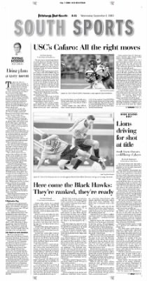 Pittsburgh Post-Gazette from Pittsburgh, Pennsylvania on September 1, 2004 · Page 112
