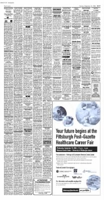 Pittsburgh Post-Gazette from Pittsburgh, Pennsylvania on September 14, 2004 · Page 47