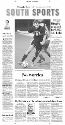 Pittsburgh Post-Gazette from Pittsburgh, Pennsylvania on September 15, 2004 · Page 127