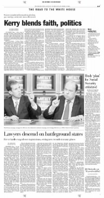 Pittsburgh Post-Gazette from Pittsburgh, Pennsylvania on October 18, 2004 · Page 7