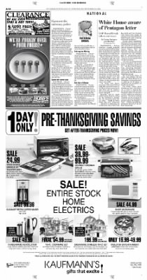 Pittsburgh Post-Gazette from Pittsburgh, Pennsylvania on November 24, 2004 · Page 10