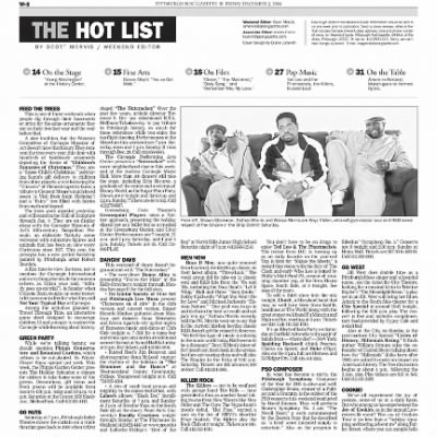 Pittsburgh Post-Gazette from Pittsburgh, Pennsylvania on December 3, 2004 · Page 62