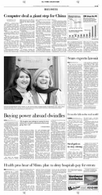 Pittsburgh Post-Gazette from Pittsburgh, Pennsylvania on December 9, 2004 · Page 47